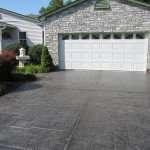 stamped concrete driveway st louis