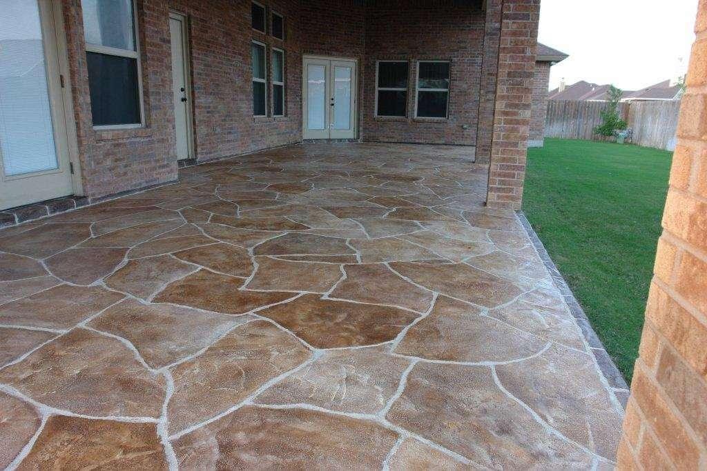 Concrete Patios Designs Amp Ideas St Louis Mo Imprinted Concrete
