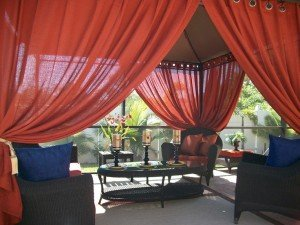 gazebo curtain