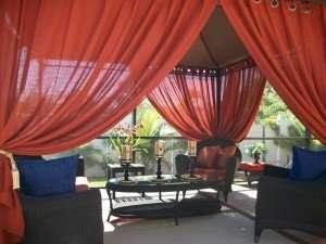 gazebo curtain