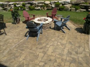 stamped concrete patio St Louis