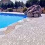knockdown texture pool deck st louis