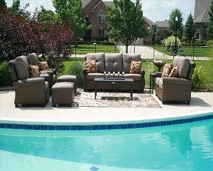 pool deck furniture
