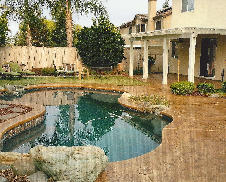 Pool Deck Ideas St Louis, MO | Decorative Concrete Resurfacing on Pool Patio Design id=27660