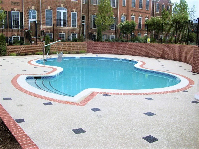 st louis knockdown finish pool deck