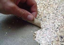 peeling epoxy coating