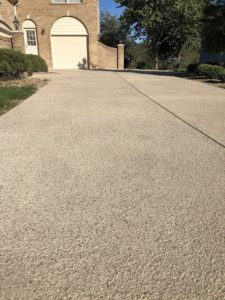 concrete driveway resurfacing in chesterfield