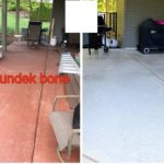 pool deck resurfacing before and after