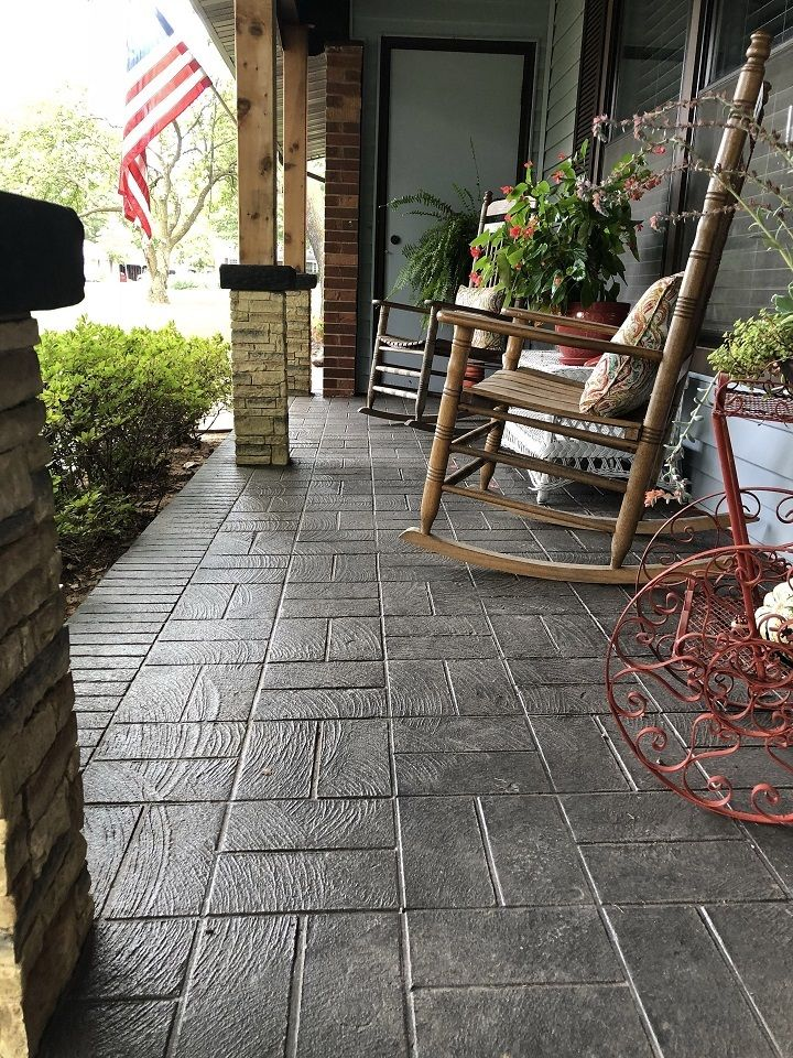 Stamped Concrete St Louis : Best Local Contractor w/ 30 ... on Outdoor Concrete Patio Ideas id=15170