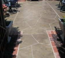 Leaving an Impression for Your Home with Stamped Concrete Overlays
