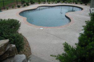 Pool Deck Concrete Repair