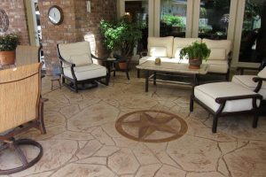 Stamped Concrete Patterns for Pool Deck Makeover